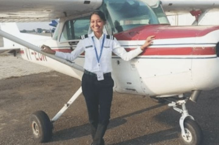 Meet The First Woman Pilot From Tribal Community To Fly Commercial Airline
